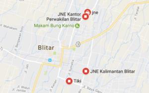 Cek Resi JNE Blitar Dan Lokasi Agen lengkap